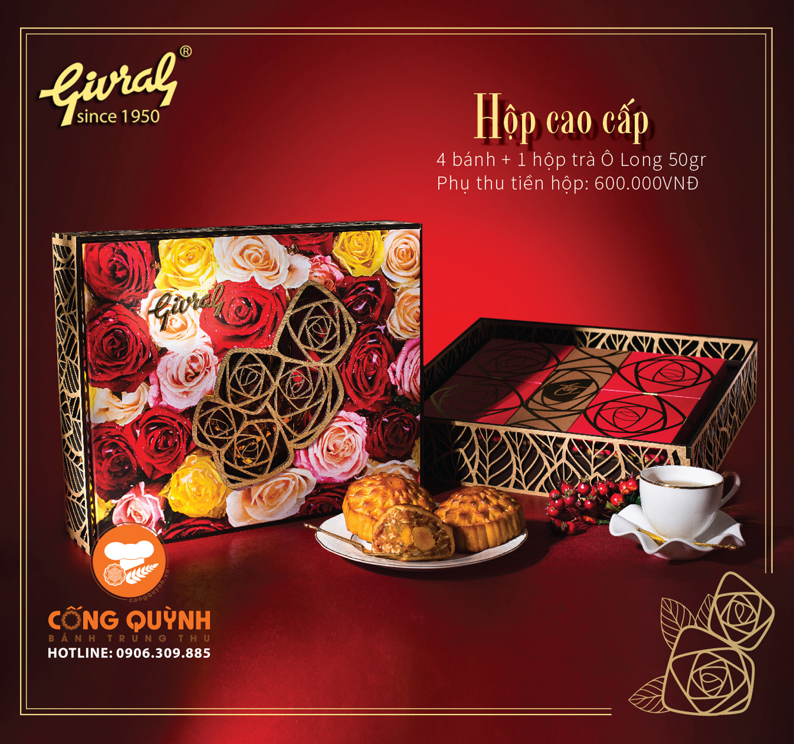 hộp cao cấp givral 2019